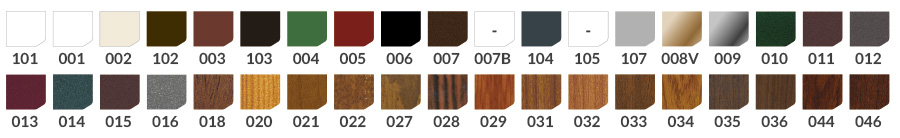 farben plissee