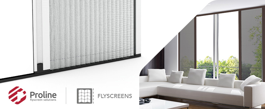 Here is the reason why you should choose a pleated flyscreen solution